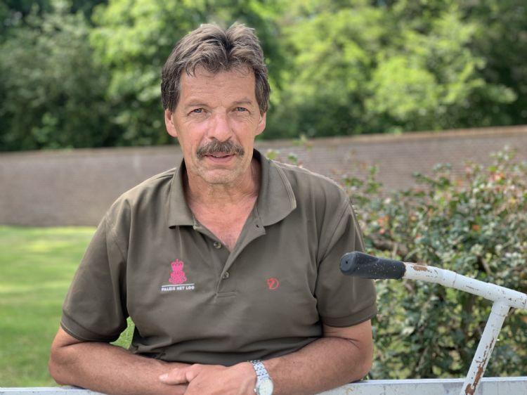 Martien Bouwmeester medewerker tuindienst Tuinen het Loo