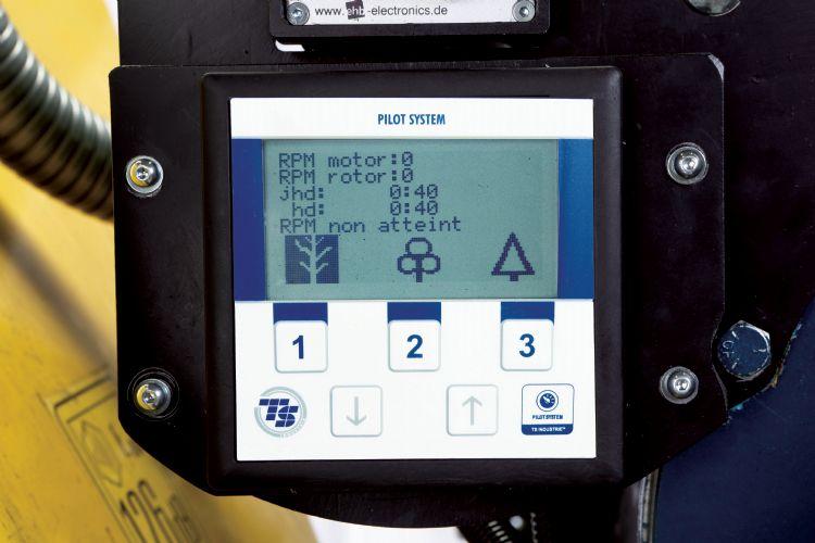 Geavanceerd en storingsvrij aansturingssysteem: samenspel tussen dieselmotor, hydraulisch vermogen op de invoerwalsen en bediening van de N0-Stress