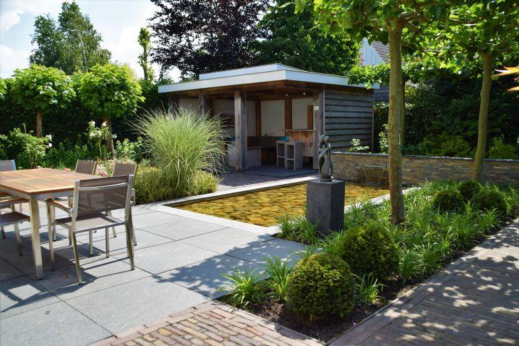 De klant van Dutch Quality Gardens wil niet zelf tuinieren, maar de tuin vooral beleven.