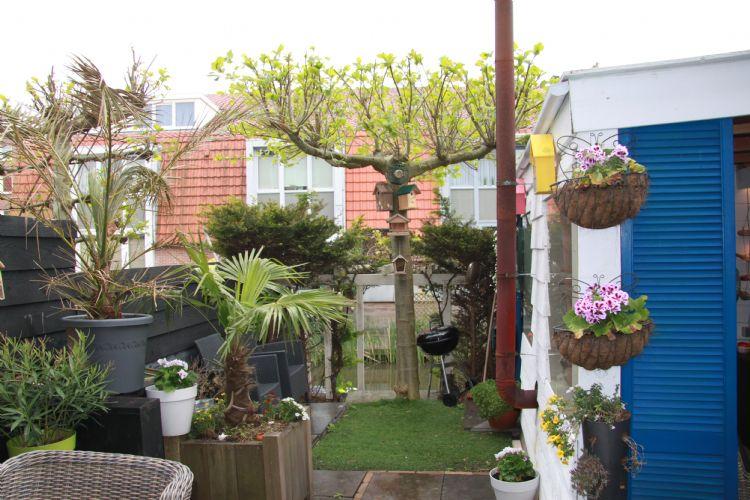 De tuin van Frank Vredenburg heeft van alles wat.