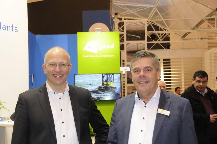 Hugo Paans (l) en Cock van Bommel (r) van Erfgoed