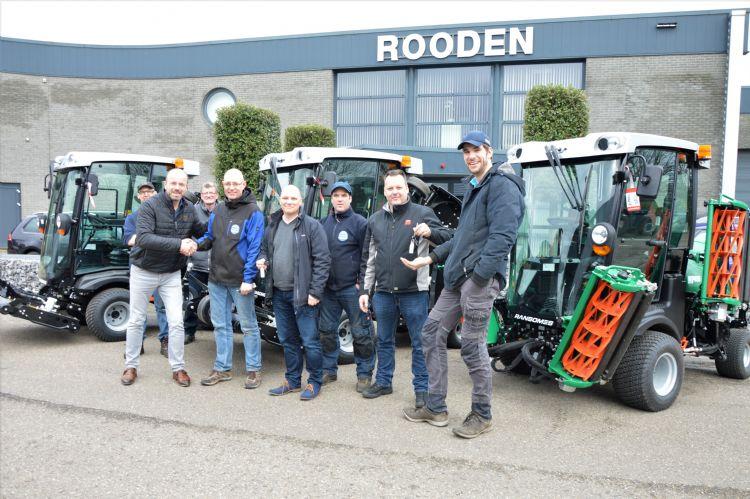 De medewerkers van Rooden Landscape Solutions waren betrokken bij de keuze voor Pols en Ransomes.