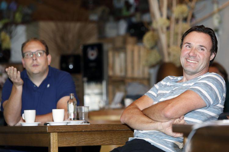 Richard Ulijn & Alex van Zon van Haantje Hoveniers