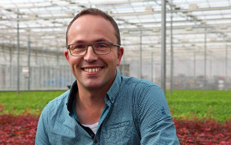 Machiel Paans, area salesmanager van ErfGoed, biedt kwekers de nodige ondersteuning voor hun ErfGoedVloer.