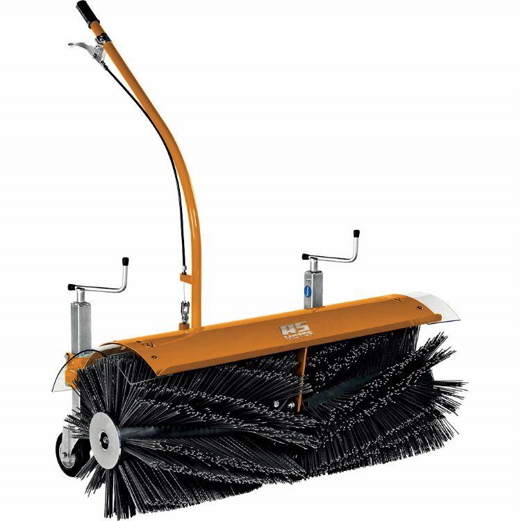 P Vuil- en sneeuwruimen met een machine-aangedreven 100 cm-rolborstel