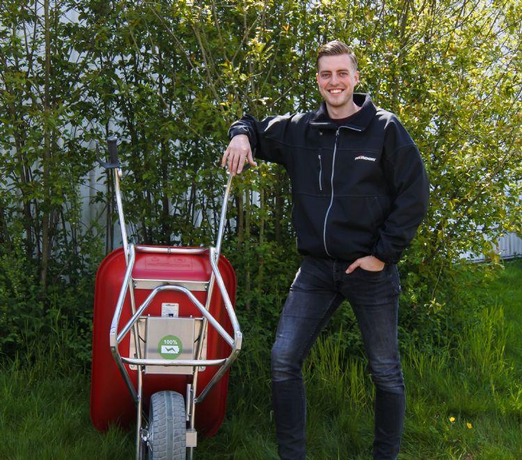 Max Kool (Matador): 'De gebruiker van de E-Barrow mag tot 103 kg verzetten.'