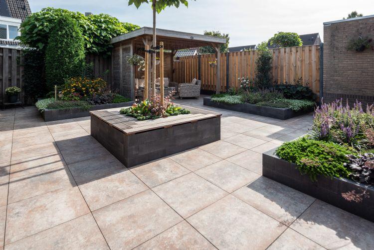 Project in beeld moderne tuin in hoogeveen