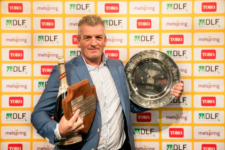 Marc Grooteman won vorig jaar de Fieldmanager of the Year award