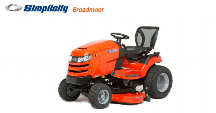 De nieuwe Simplicity Broadmoor SYT 410