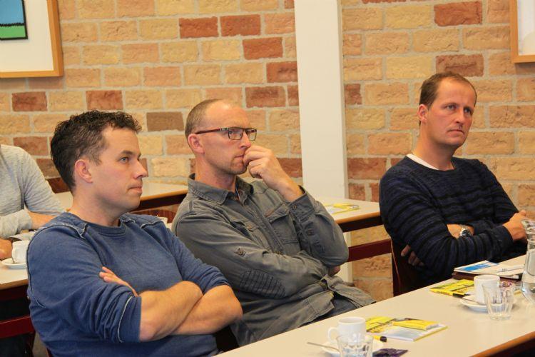Joost van Werven, Teun van der Meijden en Daan Bruin