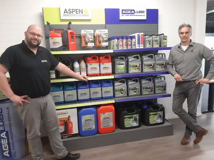 Links Dirk Eppink, rechts Ernst van Gelder