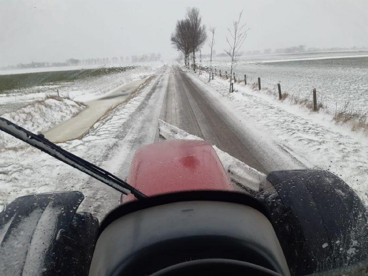 In Noord-Holland sneeuwde het afgelopen dagen zo'n 45 uur onafgebroken