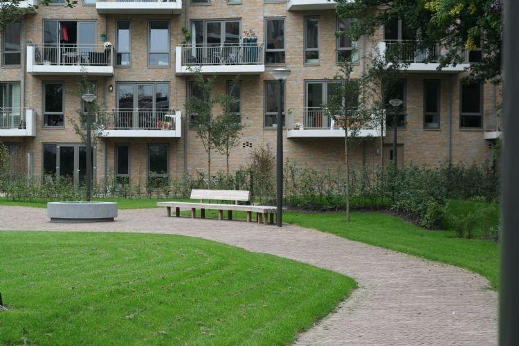 Aanleg openbare tuin huis van hendrik in haarlem